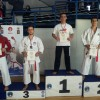 Prvenstvo Beograda za kadete, juniore i mlađe seniore, 2 zlatne, 1 srebrna i 1 bronzana medalja