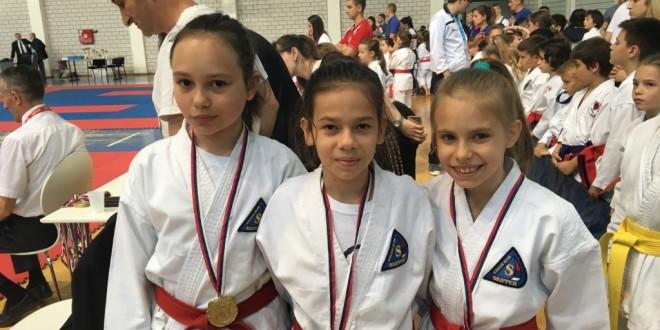 Na Kupu Srbije i Dunav Kupu 7 medalja
