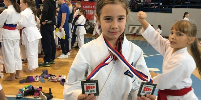 Najmlađi takmičari uspešni na Kupu Beograda