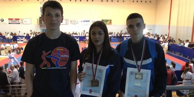 Mariji i Borisu bronzane medalje u Čačku