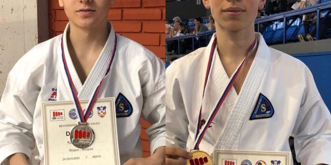 Tri medalje za vikend