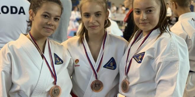 Dve bronze na prvenstvu Beograda za kadete i juniore