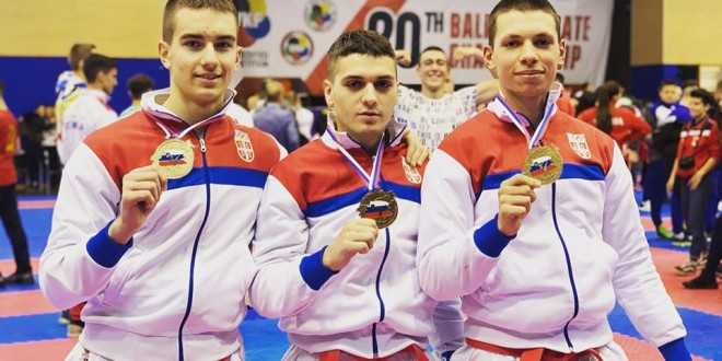 Zlato i bronza sa prvenstva balkana!