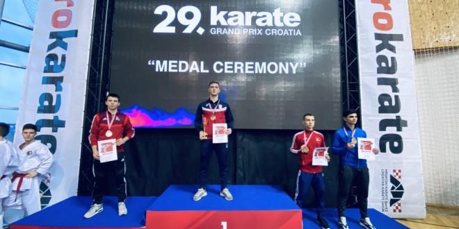 Uroš Subota srebrni na Grand Prix Croatia 2020!