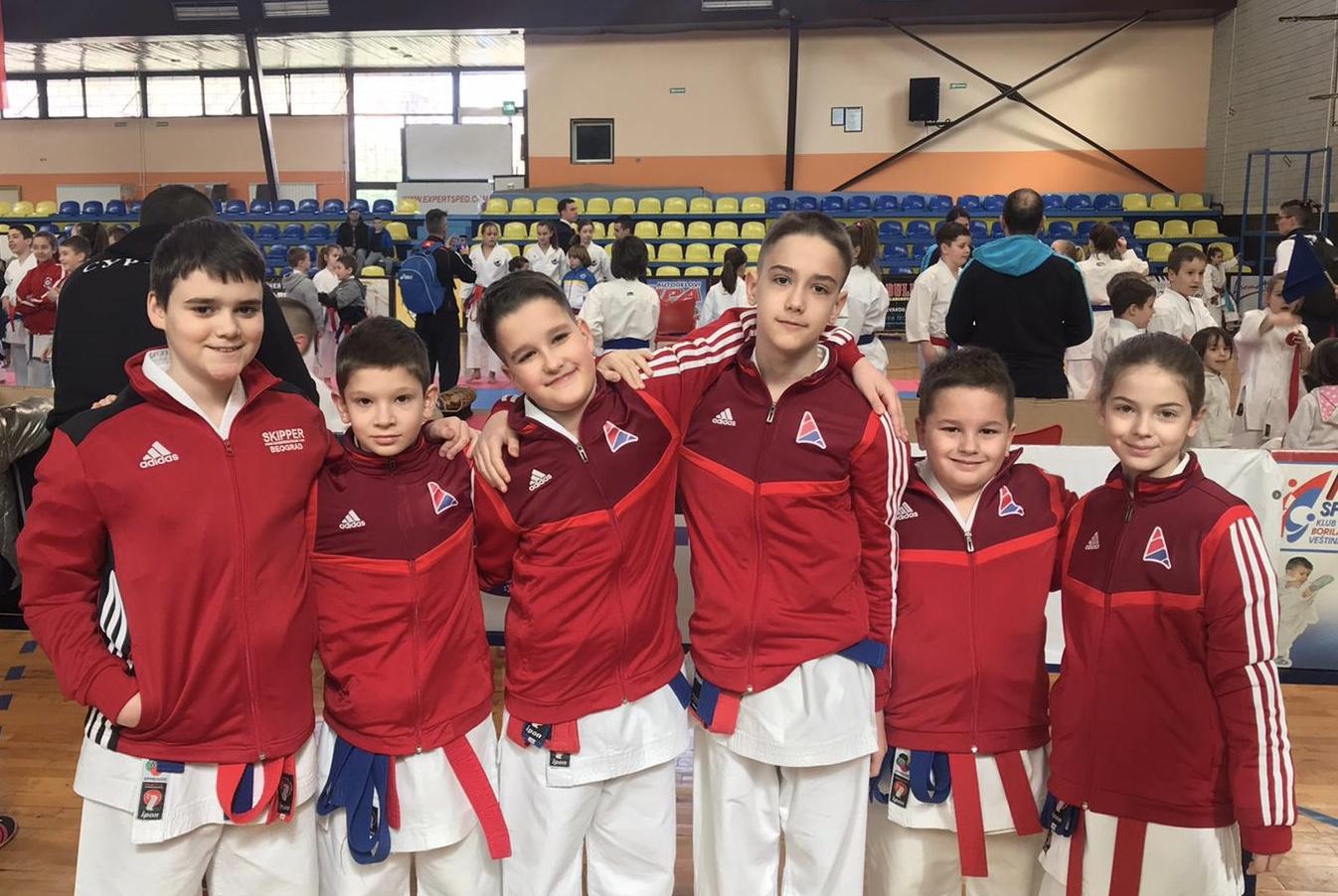 Dva zlata i dve bronze na prvenstvu Beograda!