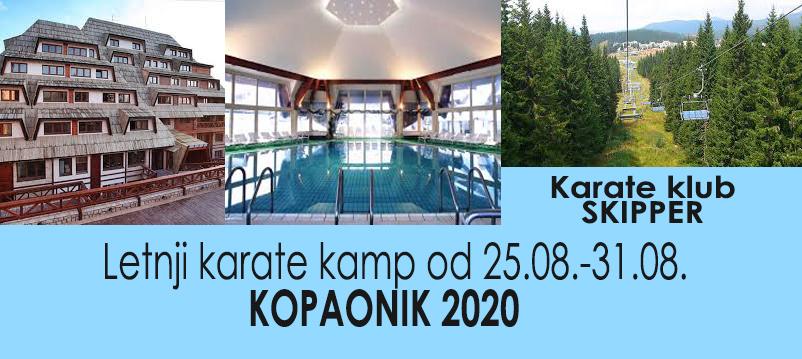 Letnji karate kamp Kopaonik 2020.